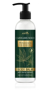 JOANNA BOTANICALS HOME SPA MOISTURIZING BODY BALM LOTION CANNABIS SEED
