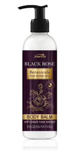 JOANNA BOTANICALS HOME SPA REGENERATING BODY BALM LOTION BLACK ROSE