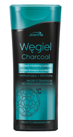 JOANNA CHARCOAL MICCELAR SHAMPOO WITH CONDITIONER DETOXIFYING