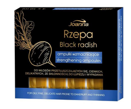 JOANNA HAIR AMPOULES STRENGTHENING BLACK RADISH EXTRACT AGAINST HAIR LOSS ANTI-DANDRUFF FOR FINE OR GREASY HAIR