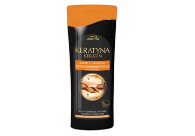 JOANNA KERATIN SHAMPOO WITH KERATIN REGENERATON & REBUILDING FOR COARSE, DULL AND DAMAGED HAIR