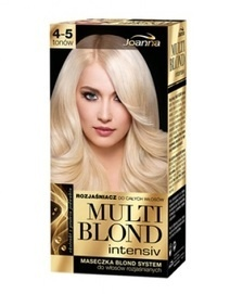 JOANNA MULTI BLOND INTENSIV WHOLE HAIR LIGHTENER 4-5 TONES + MASK