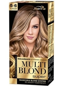 JOANNA MULTI BLOND SUPER HAIR LIGHTENER 4-5 TONES FOR HIGHLIGHTS, BALAYAGE