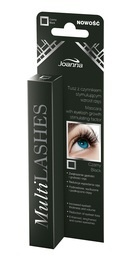 JOANNA MULTILASHES MASCARA WITH EYELASH GROWTH STIMULATING FACTOR TRADITIONAL BRUSH black
