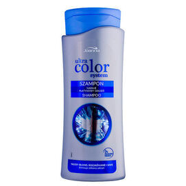 JOANNA ULTRA COLOR SYSTEM SHAMPOO PLATINUM SHADE FOR BLOND, DYED OR GREY HAIR ELIMINATES YELLOWISH