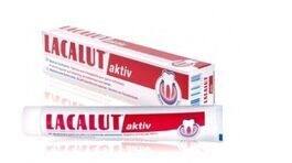 LACALUT ACTIV TOOTHPASTE  for bleeding gums, prevents periodontitis 75ml pasta do zebów przeciw krwawieniu dziąseł