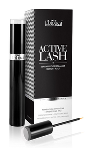 LBIOTICA ACTIVE LASH ACCELERATE THE GROWTH OF EYELASHES & EYEBROW SERUM in elegant case