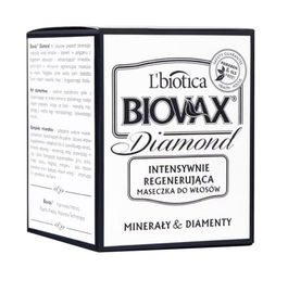 L`BIOTICA LBIOTICA BIOVAX DIAMOND INTENSIVE REGENERATING HAIR MASK MINERALS & DIAMONDS