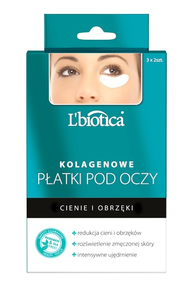 L`BIOTICA LBIOTICA COLLAGEN UNDER EYE PATCHES DARK CIRCLES & PUFFINES