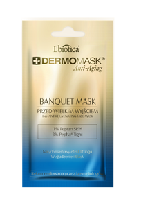 L`BIOTICA LBIOTICA DERMOMASK BANQUET ANTI-AGING DERMATOLOGICAL FACE MASK REJUVENATING 45+