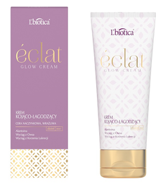 L`BIOTICA LBIOTICA ECLAT GLOW SOOTHING & CALMING FACE CREAM CAPILLARY SENSITIVE SKIN DAY NIGHT