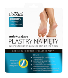 L`BIOTICA LBIOTICA HEEL PATCHES FOR DRY AND CRACKED HEELS REGENERATING & SOFTENING