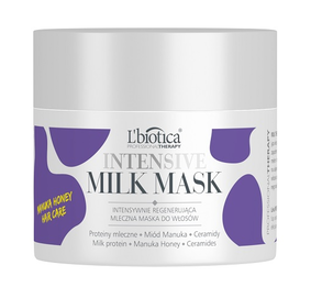 L`BIOTICA LBIOTICA MILK THERAPY INTENSIVE HAIR MASK INTENSIVE REGENERATION