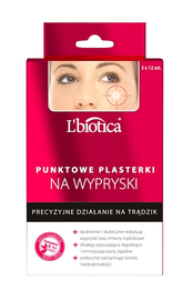 L`BIOTICA LBIOTICA POINT ACNE PATCHES AGAINST IMPERFECTION PRECISION TREATMENT