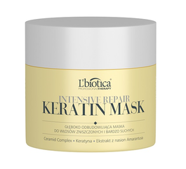 L`BIOTICA LBIOTICA PROFESSIONAL THERAPY INTENSIVE REPAIR KERATIN HAIR MASK  VERY DRY & DEMAGED HAIR