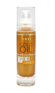 LOTON GOLD OIL BEAUTY & SPA ILLUMINATING DRY OIL FOR BODY GOLD DUST