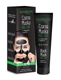 MARION DETOX BLACK MASK PEEL-OFF BLACKHEAD REMOVER SHILLS PILATEN FOR FACE