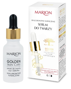 MARION GOLDEN SKIN CARE HIALURON MOISTURIZING FASE SERUM REJUVENATING TREATMENT