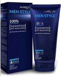 MARION MEN STYLE 100% HAIR SHAMPOO ANTI-GRAYING FOR MEN