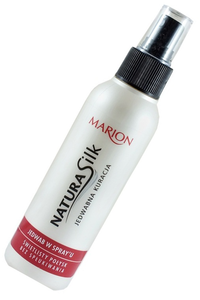 MARION NATURA SILK SILK THERAPY FOR HAIR ULTRA SHINE GLOSS SPRAY
