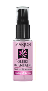 MARION ORIENTAL OIL MOISTURIZING FOR HAIR ALMONDS WILD ROSE 30ml PINK