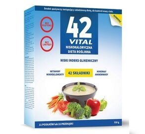 Medicaline 42 Vital A LOW-CALORED PLANT DIET GLUTEN & LACTOSE FREE WEIGHT LOSS