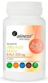 MEDICALINE ALINESS Alpha Lipoic Acid R-ALA 200 mg 60 TABLETS