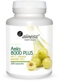 MEDICALINE ALINESS AMLA 8000 PLUS TANNIN VITAMIN C CHROME 100 CAPSULES