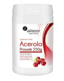 MEDICALINE ALINESS DIET SUPPLEMENT ACEROLA POWDER 250 PORTIONS WITH NATURAL VITAMIN C