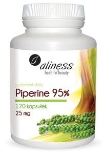 MEDICALINE ALINESS DIET SUPPLEMENT PIPERINE BLACK PEPPER 120 TABLETS