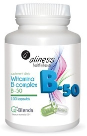 MEDICALINE ALINESS VITAMIN B COMPLEX B-50 100 CAPSULES