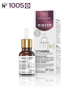 MINCER PHARMA VITAMINS PHILOSOPHY STRENGHTENING SERUM FOR FACE & NECK No. 1005