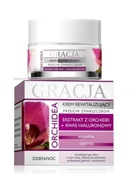 MIRACULUM GRACJA FACE CREAM ORCHID + HYALURONIC ACID
