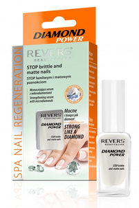 REVERS COSMETICS DIAMOND POWER STOP BRITTLE & MATTE NAILS STRENGHTENING SERUM CONDITIONER
