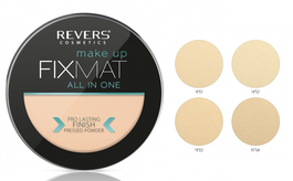 REVERS COSMETICS FIX MATT MAKE-UP ALL IN ONE PRESSED POWDER PRO LASTING FINISH
