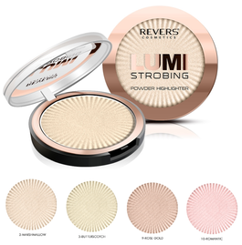 REVERS COSMETICS LUMI STROBING POWDER HIGHLIGHTER FACE & BODY