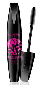 REVERS COSMETICS MAXI EYES LENGHT & VOLUME MASCARA WITH LASH SERUM BLACK