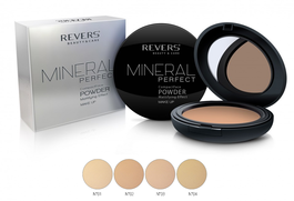 REVERS COSMETICS MINERAL PERFECT COMPACT MATTIFYING POWDER WITH MIRROR
