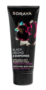 SORAYA BLACK ORCHID & DIAMONDS SMOOTHING BODY BALM LOTION 200ml