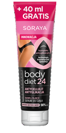 SORAYA BODY DIET 24 BODY SERUM ANTI-CELLULITE  ANTI-GLYCATION MOISTURIZING