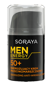 SORAYA MEN ENERGY ENERGIZING ANTI-WRINKLE FACE CREAM FOR MEN 50+