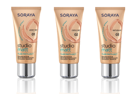 SORAYA STUDIO MATT MATTIFYING FOUNDATION MAKE-UP LONG LASTING