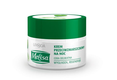 URODA MELISA ANTI-WRINKLES FACE CREAM SMOOTH & REGENERATION NIGHT
