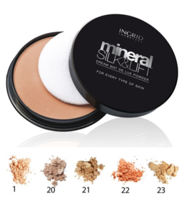 VERONA INGRID MINERAL SILK & LIFT DREAM MAT DE LUX FACE POWDER
