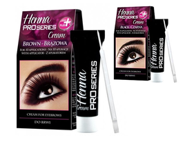 VERONA INGRID PRO SERIES HENNA CREAM FOR EYEBROWS black brown