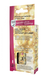 VERONA TOP COAT GEL NAILS EFFECT WITHOUT LAMP UV