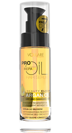 VERONA VOLLARE PRO OIL INTENSIVE REPAIRHAIR SERUM WITH ARGAN OIL DRY & DEMAGED HAIR
