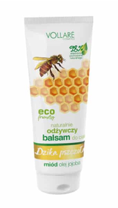 VERONA VOLLARE WILD BEE NATURAL NOURISHING BODY LOTION BALM HONEY & JOJOBA OIL ECO