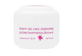 ZIAJA ANTI-WRINKLES FACE CREAM MATURE SKIN Q10 + RETINOL