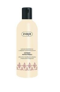 ZIAJA CASHMIRE STRENGTHENING HAIR SHAMPOO ACTIVE MOISTURISING AND VOLUME